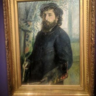 Claude Monet by Auguste Renoir