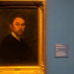 Copy of Juan Luna's Self Portrait by Gaston O'Farrell