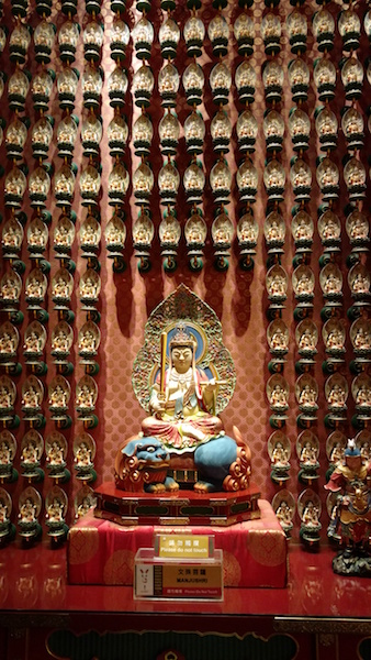 Inside the Buddha Tooth Relic Temple