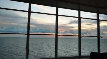 Sunset from the Genting Dream