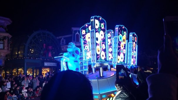 Disney Paint the Night Parade