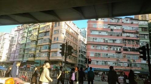 Old buildings in Hong Kong