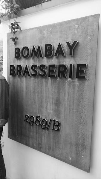 Bombay Brasserie, Bengaluru