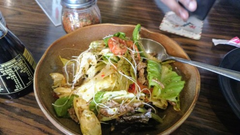 Yam Neua or Thai Beef salad