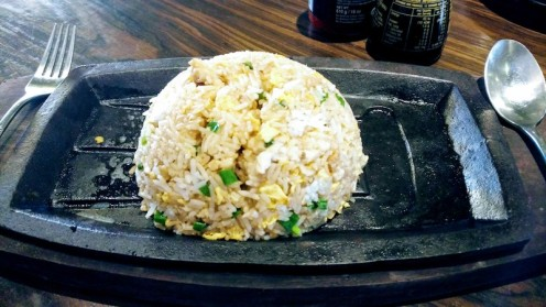 Japanese Hibachi Sticy Rice (chicken)