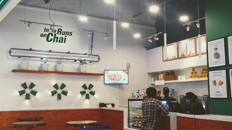 The Chai Point kiosk at Phoenix Market City Mall