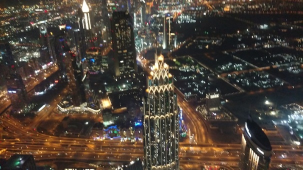 View from At The Top @Burj Khalifa