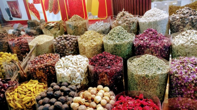 Inside the Spice Souq