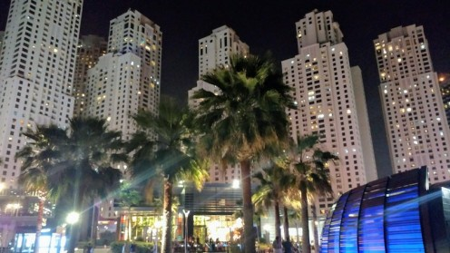 The high rises at JBR