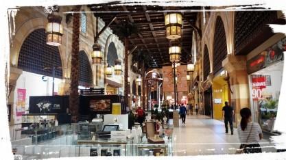 Inside the Ibn Battuta Mall