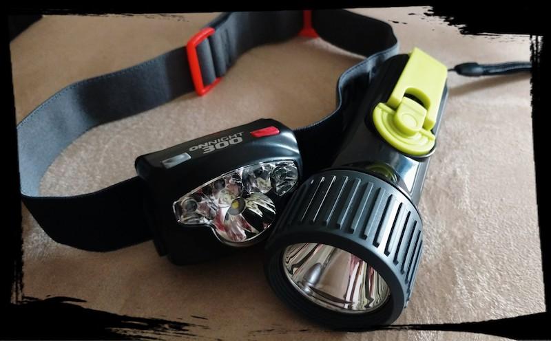 Head lamp & Flashlight
