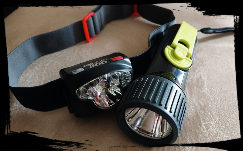 Head lamp & Flashlight