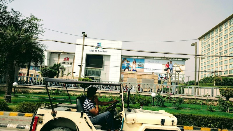 Mall of Amritsar, located next to Hyatt