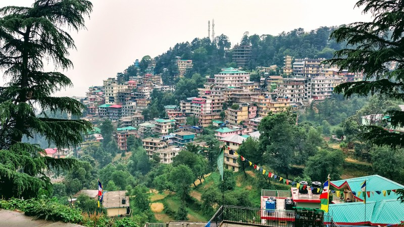Dharamshala - View from McLeod Ganj
