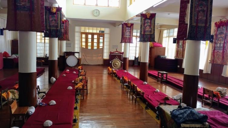 Inside the Kakachakra temple