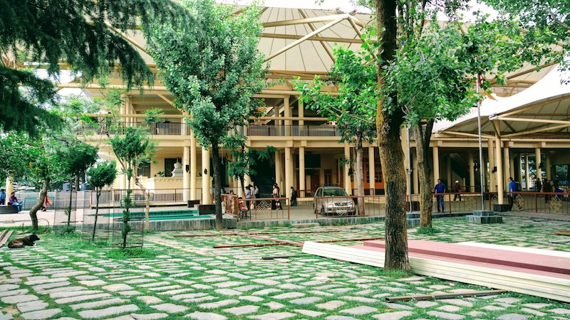 Tsug-la Khang Complex, Home of His Holiness the 14th Dalai Lama