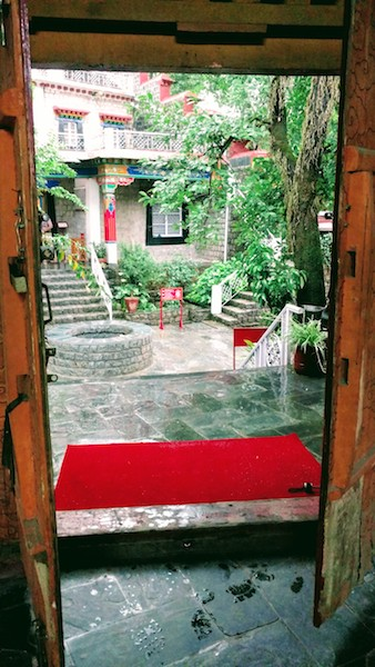 The entrance to the Norbulingka Shop