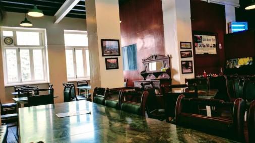 Inside Cafe Dalhousie