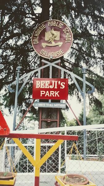 A defence park named - Beeji's Park
