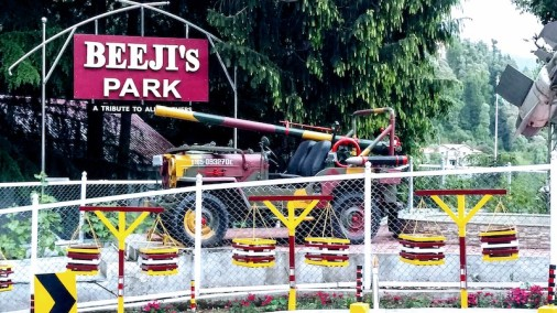 On display at Beeji's Park