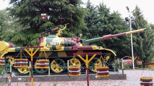 A T-55 at the Beeji's Park
