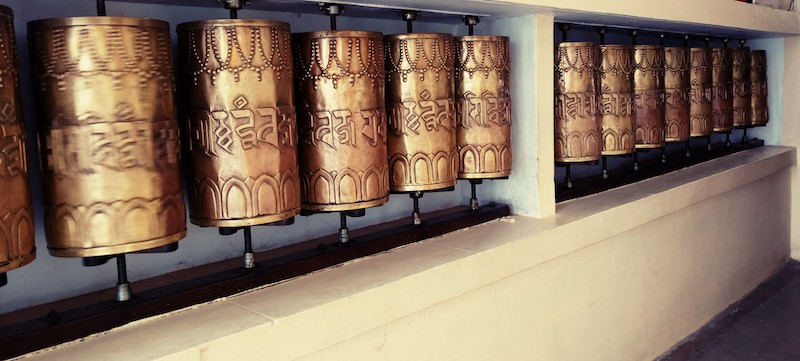 Mani Prayer Wheels
