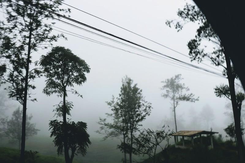 The hill station of Nuwara Eliya