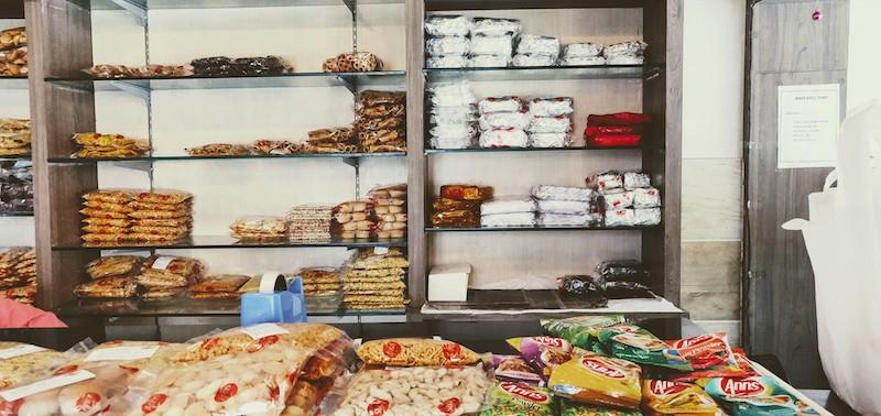 Inside Anns Bakery