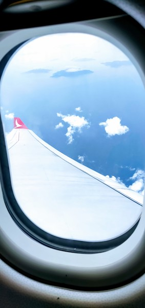 Onboard Cathay Dragon