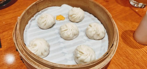 Steamed chicken dumplings