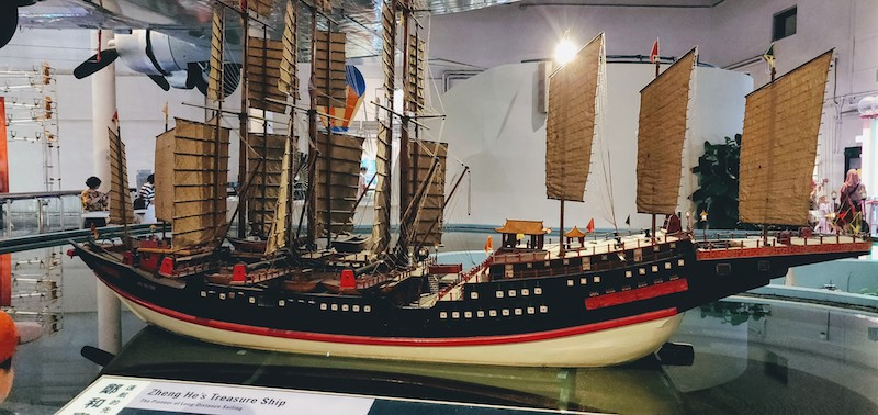 Zheng He's Treasure Ship