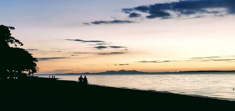 A Fijian sunset