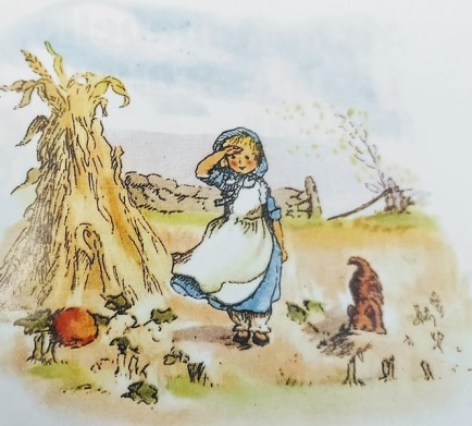 An illustration from the book - Pumpkin Moonshine