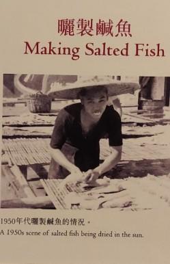 Making Salted Fish