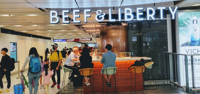 Beef & Liberty @Hong Kong Intl Airport