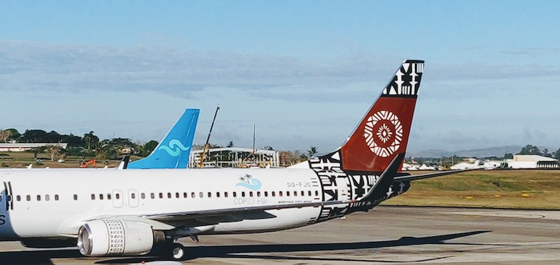 Fiji Airways at Nadi Airport, Fiji