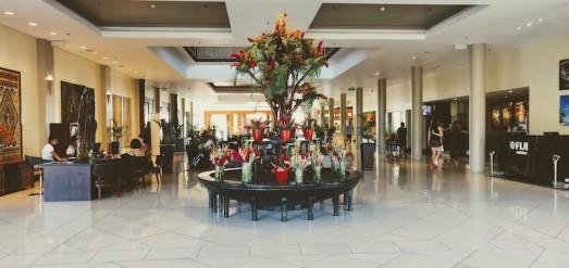 The lobby at Sofitel