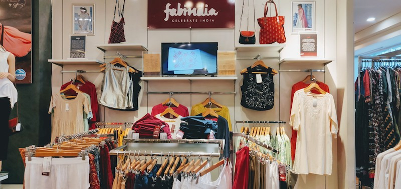 FabIndia shop at the mall