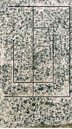 The game with a square grids