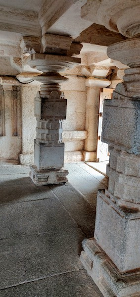 Inside the Gali Gopura
