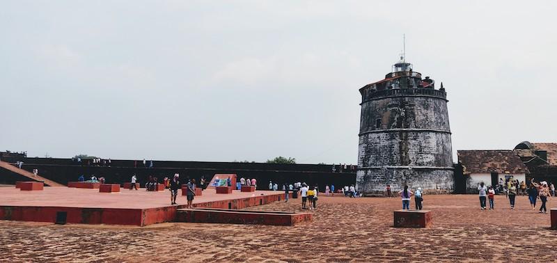 Aguada fort - Upper part