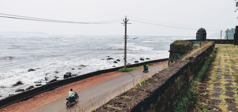 The Reis Magos fort in Goa