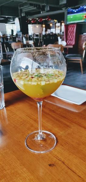 Blonde Sangria at Harry's Bar & Cafe
