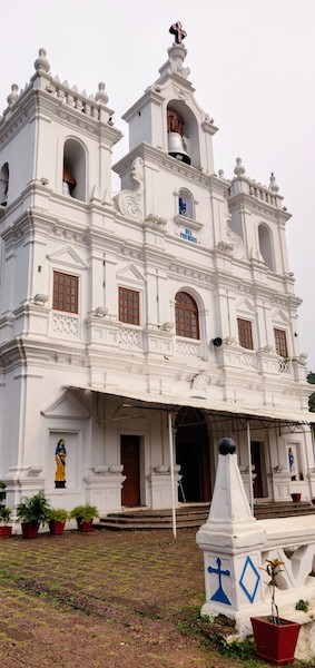 Church of our Lady of the Immaculate Conception in Panjim