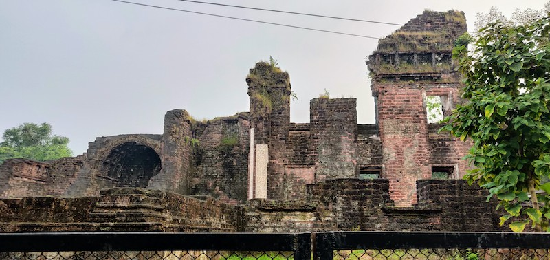 Ruins of the monastery of the Augustines in Old Goa
