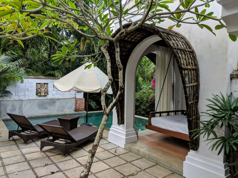 Villa with a plunge pool at Taj Bekal