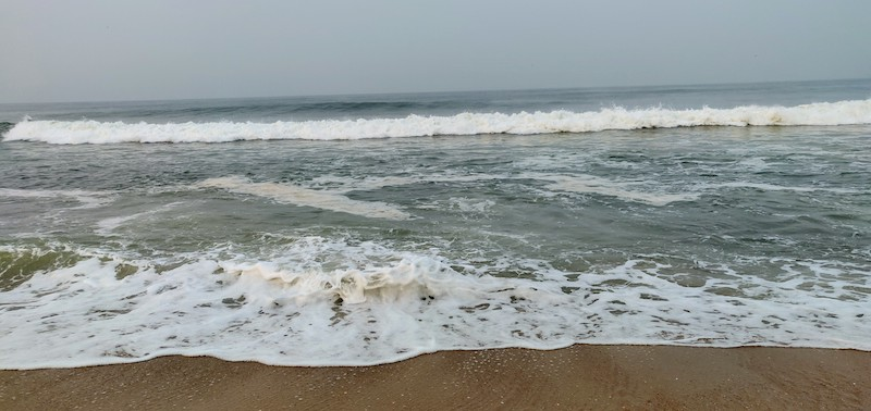 The beach at Taj Bekal