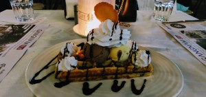 Crazy Waffle at Cafe Noir, UB City, Bangalore