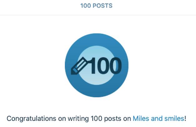 A milestone to celebrate!