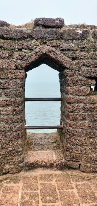 At the Bekal fort